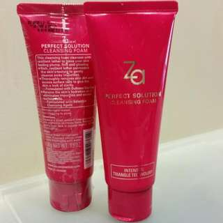 ZA Perfect Solution Cleansing Foam (100g) (Selling 2pcs For $15)