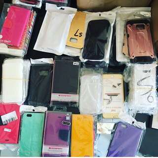 iPhone Covers / Samsung Covers  226 covers Total$600
