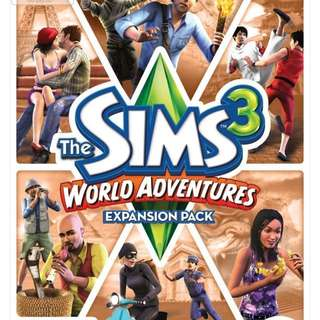 BN Sims 3 Expansion Pack (World Adventures)
