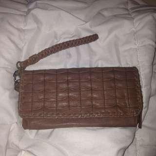Brown Vintage Wallet