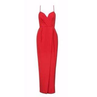 Pilgrim red formal dress