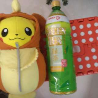Pikachu Wearing Growler Suit