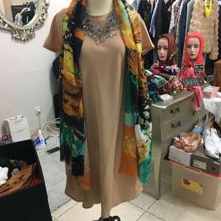 Fleur Dress Nude
