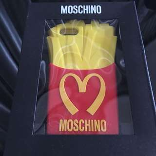 Brand New Authentic Moschino French Fries Casing