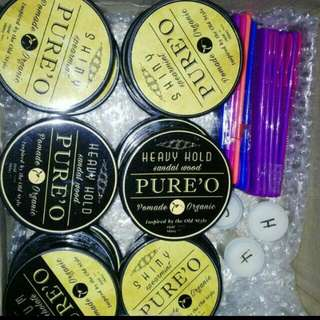 Brand New Oil Based Pomade (wax Like Texture) Pure Organic Material Xmas Promo