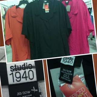 kemeja branded big size by studio 1940