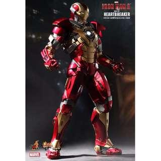 Hot Toys MMS 212 - Iron Man 3: Mark XVII Heartbreaker (Back In Box)