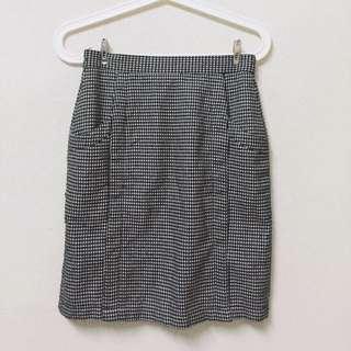 千鳥紋窄裙