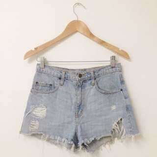 Nobody Denim Highwaist Shorts Size 26