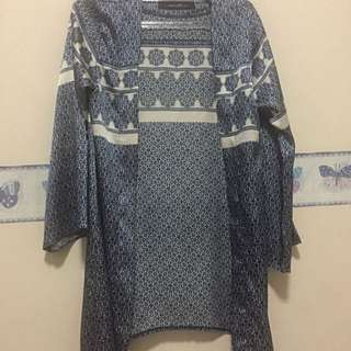 [Aniaki_ind] China Blue Outer