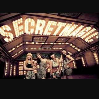 🚚 韓國女團Secret magic mini album 全新專輯