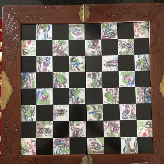 60 Year Old First Ivory Chess Board