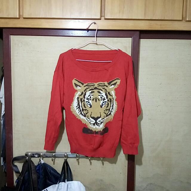 針織豹紋上衣🔥