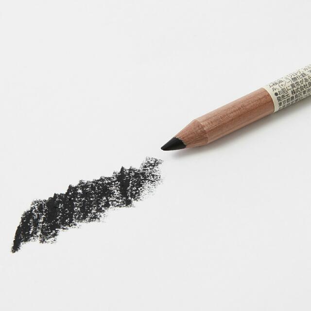 無印良品木軸眼線筆(黑,棕)