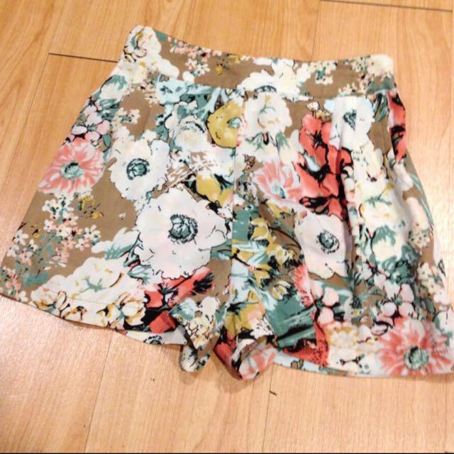 全新 正韓 時尚印花短褲