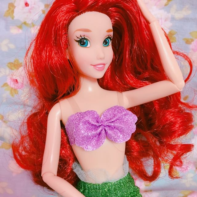 美國 🇺🇸 迪士尼 小美人魚 美人魚 愛麗兒 艾麗兒 芭比 芭比娃娃 迪士尼公主 公主