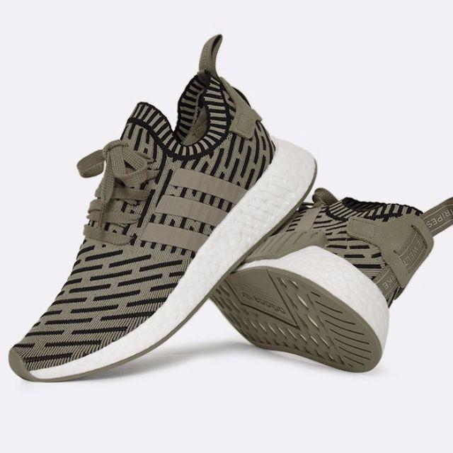 sports shoes 7b0e7 72a20 adidas NMD R2 Primeknit (BA7198)