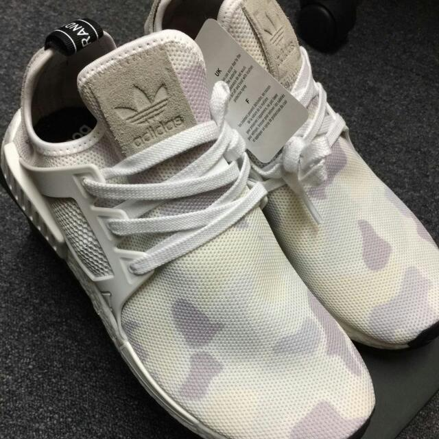a67922246b283 ADIDAS NMD XR1 Duck Camo WHITE (100% AUTHENTIC)