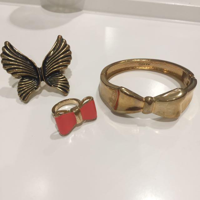 ALDO Bracelet (bangle) And Ring