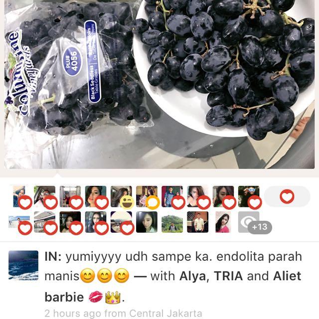 Anggur Hitamtanpabiji