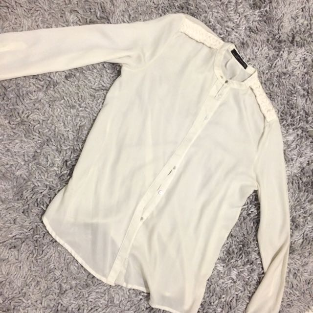 Basic White Shirt ZARA