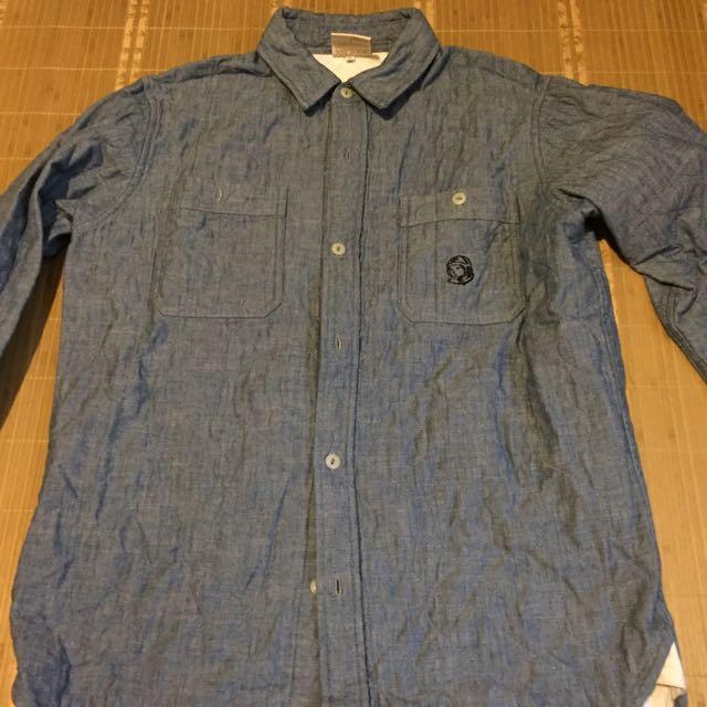 BBC 菱格紋襯衫 M號