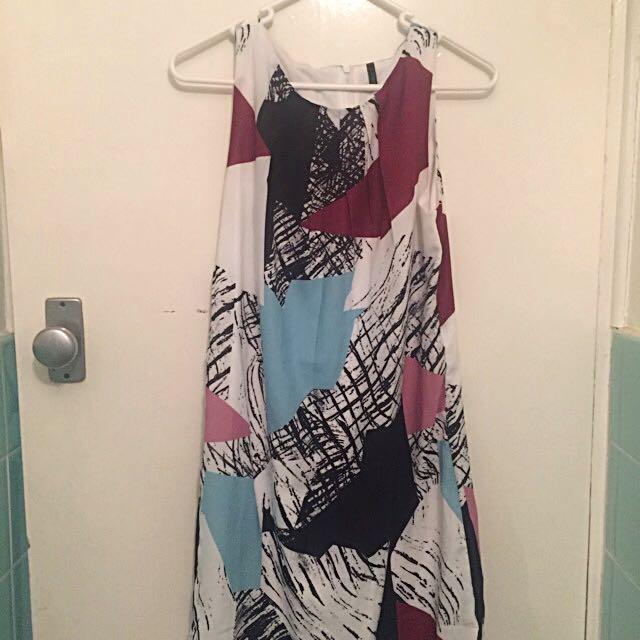 Benetton Designer Dress, Size Small