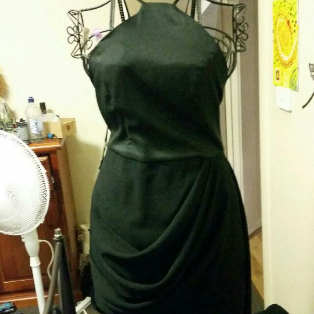 Black Blossom Dress Size 12