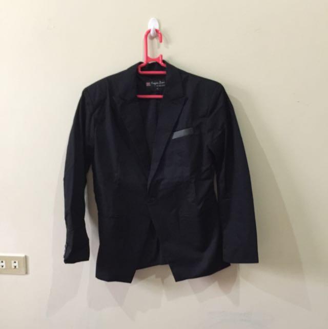 Blazer / Jas Fashion Warna Hitam Size S