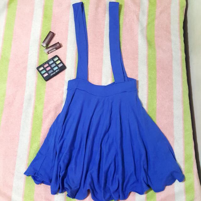 Blue Jumper Skirt