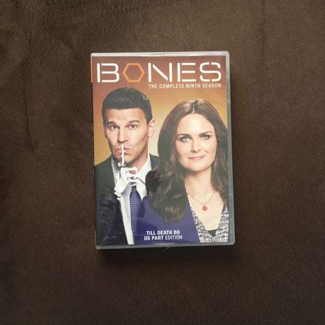 Bones Complete Ninth Season 6-Disc Set Dvd