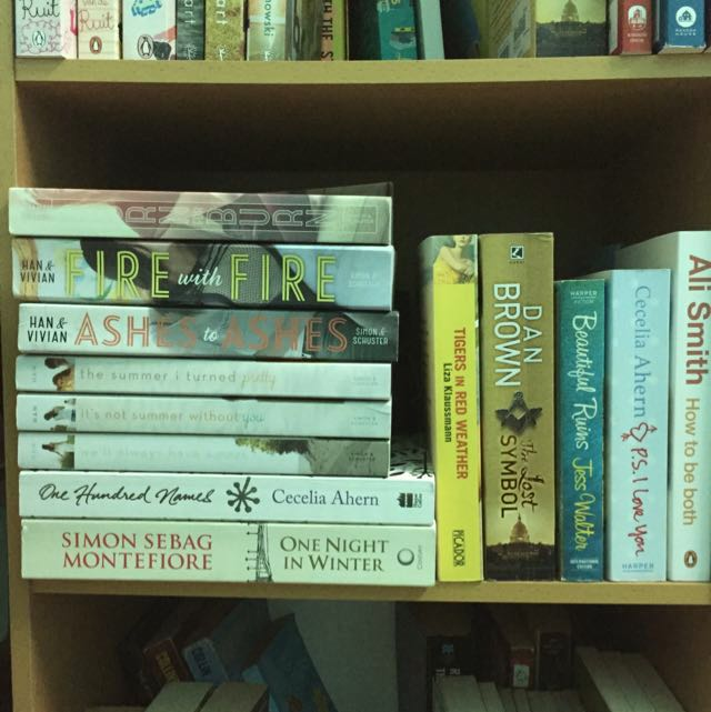 (REDUCED!) Young Adult, Chic Lit, Fiction Books! From RM3-RM75
