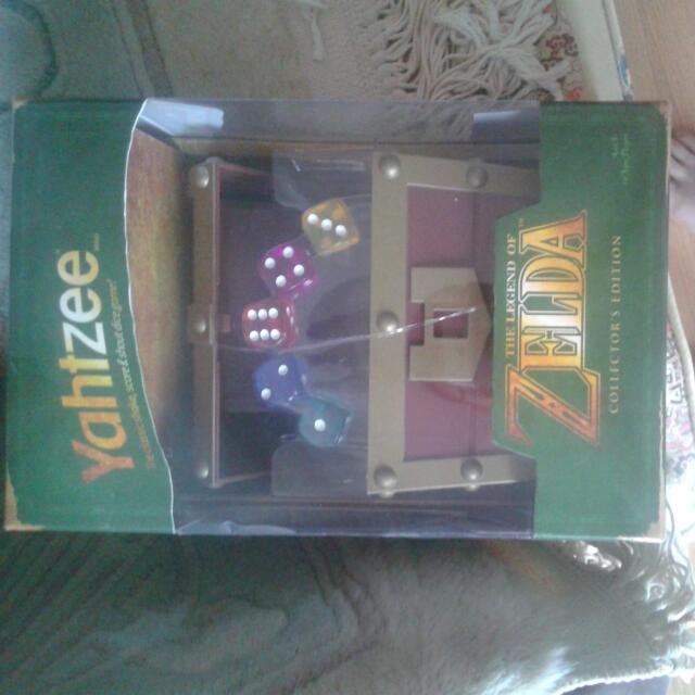 Brand New Yatzee Zelda