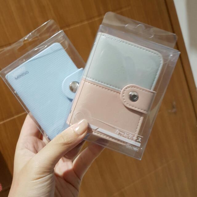 Cardholder Tempat Simpan Kartu Miniso