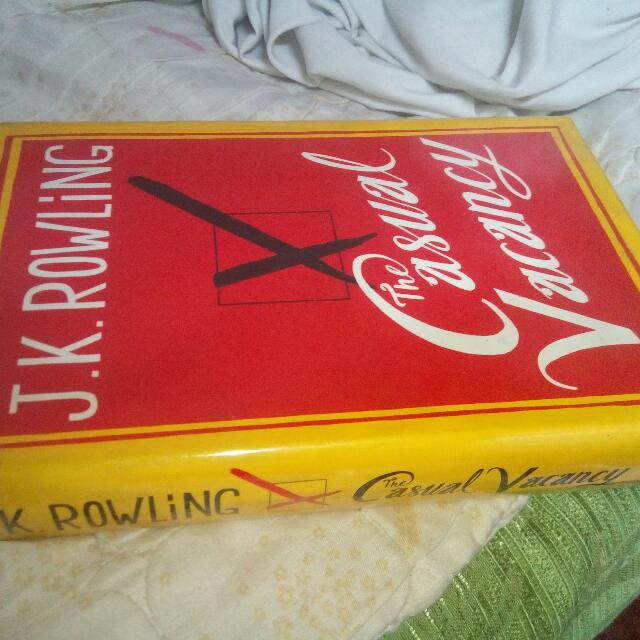 Casual Vacancy by J.K Rowling HB