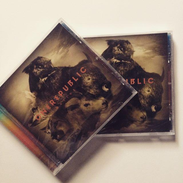 CD onerepublic