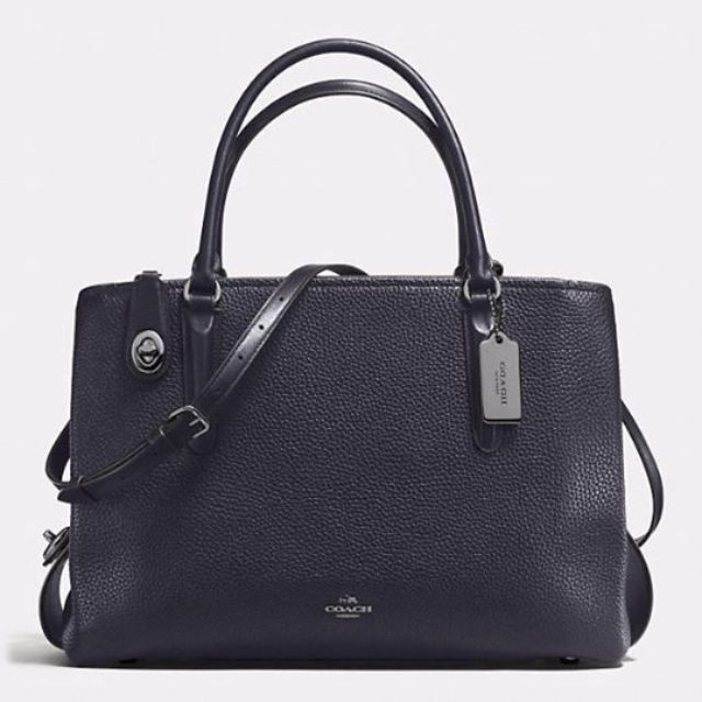 Coach  BROOKLYN CARRYALL 34 IN PEBBLE LEATHER 7b6c547d4d41c