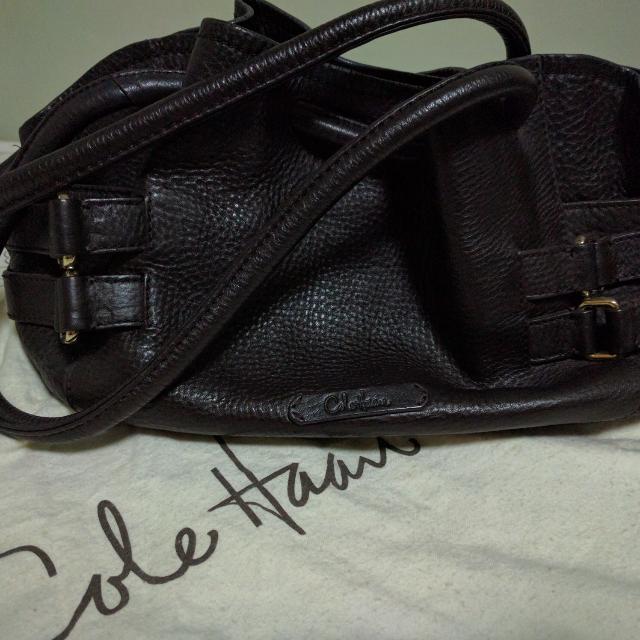 Cole Haan Soft Leather Shoulder Bag