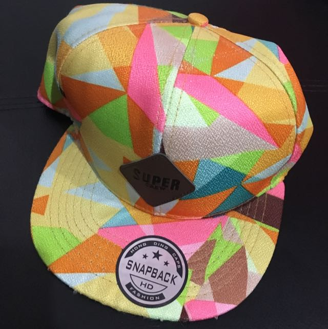 Colorful snapback