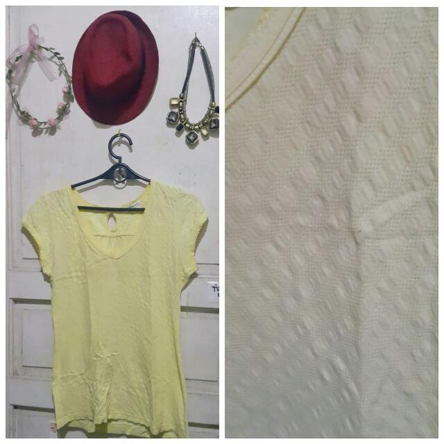 Cute Yellow Valleygirl Blouse
