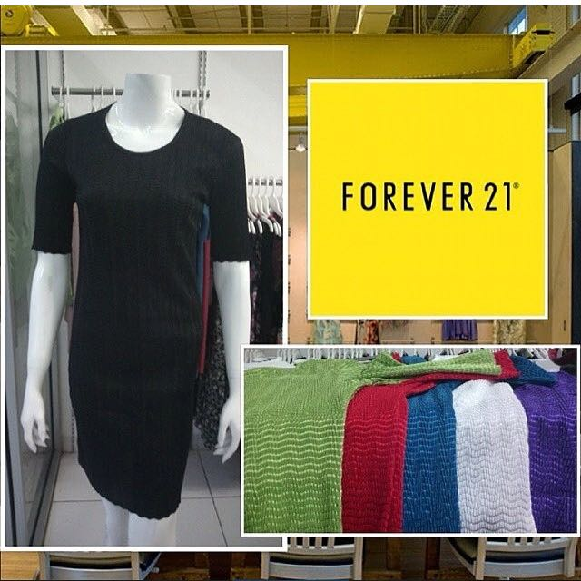 dress branded bodycon by f21