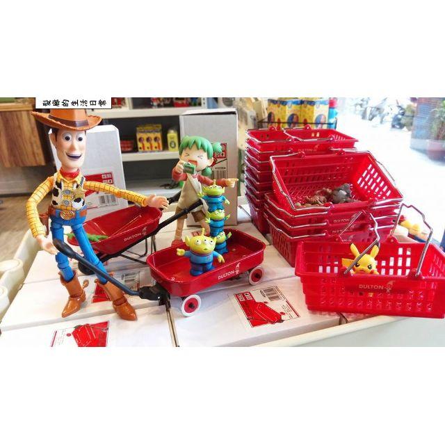 髮廊的生活日常-日本Dulton迷你工具車推車籃子公仔玩具放置名片收納幫手