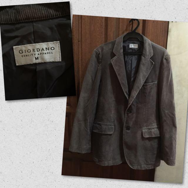 Giordano Corduroy Men's Jacket