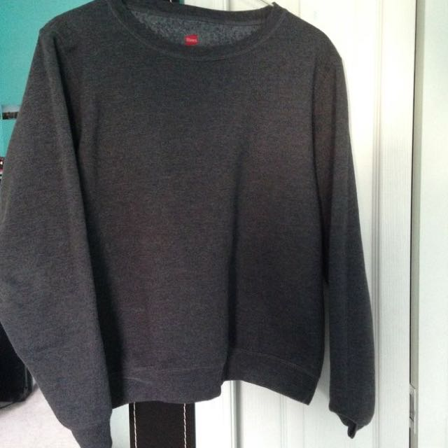Grey Simple Sweater