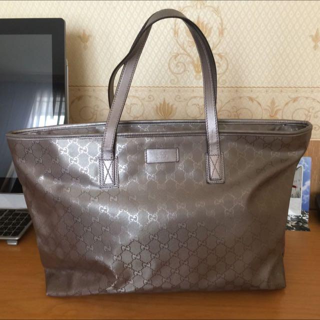 Gucci Bronze Bag