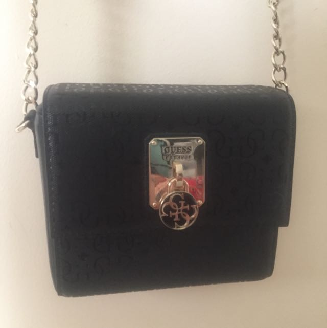 Guess Over The Shoulder Clutch