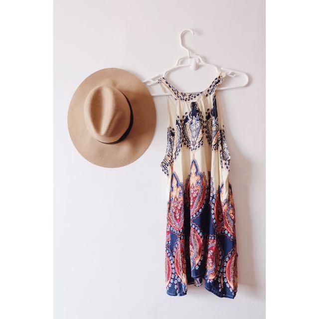 (NEW) Halter Dress / Long Top