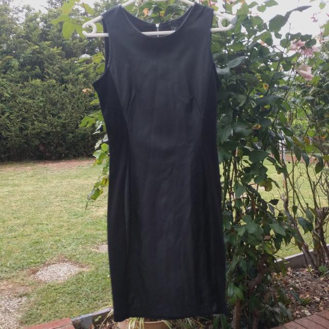 H&M Faux Leather/material Dress
