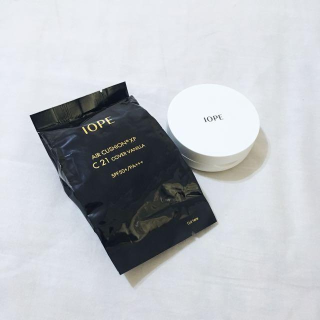 IOPE水潤光感舒芙蕾粉凝乳氣墊粉餅 C21  5ml