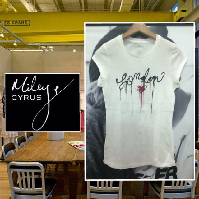 kaos branded by miley cyrus